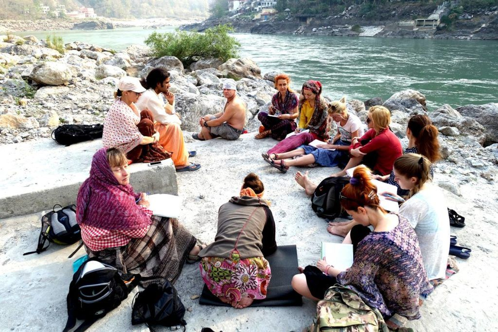 Курс для инструкторов йоги от Ravinder Jangra, Индия