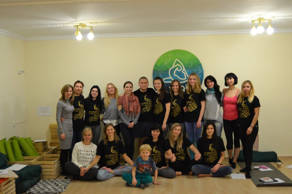 Курс для инструкторов йоги