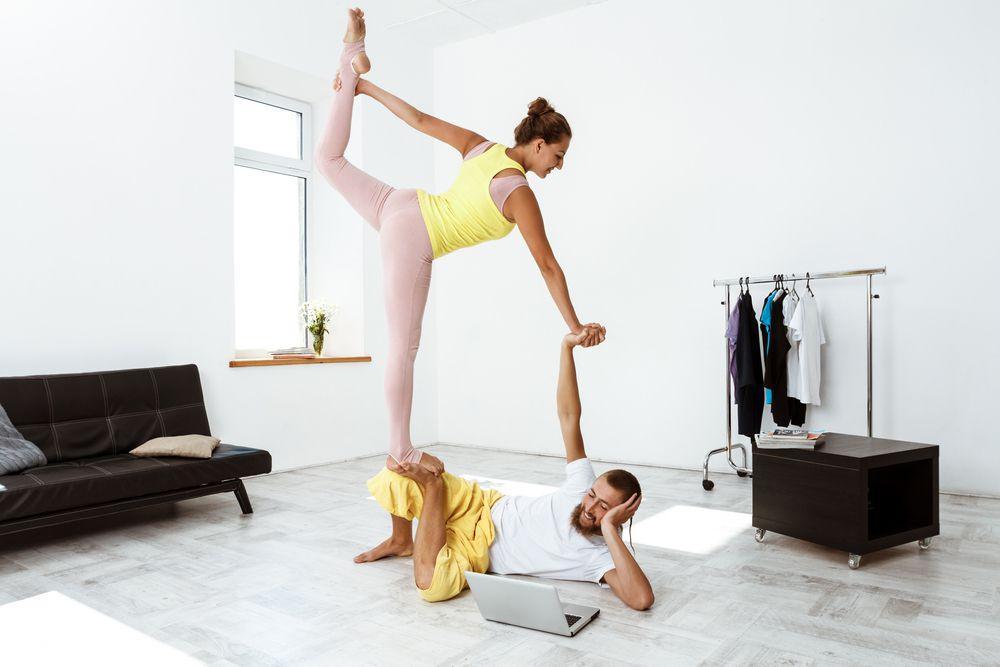 Дистанционное обучение йоге
