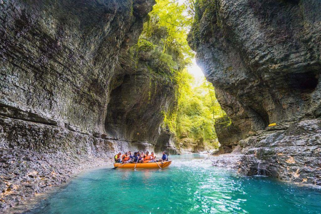 Йога-тур ВДОХновение в Грузию_Мартвили каньон